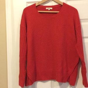 Madewell sweater. Great bright Spring color!